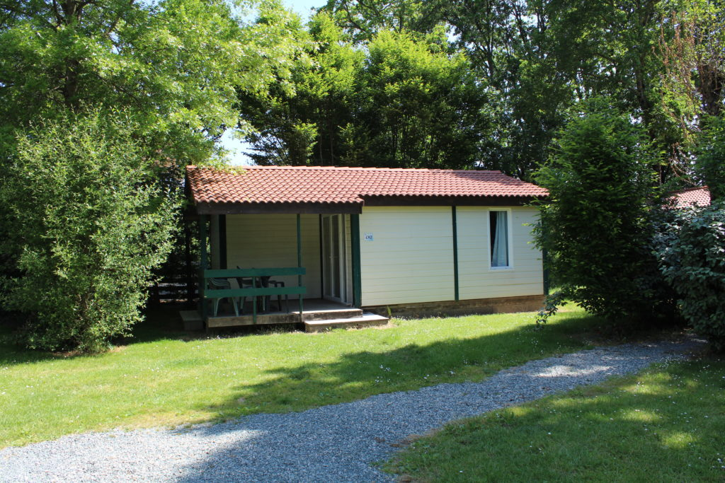 chalet bois 2 chambres