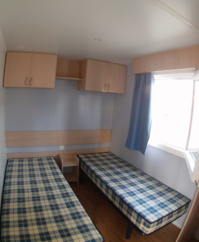 mobil home 3 chambres camping